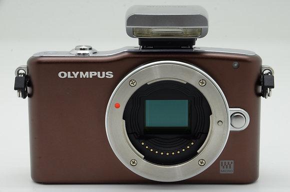 OLYMPUS PEN mini E-PM1 ブラウン BODY ID 2b0740275