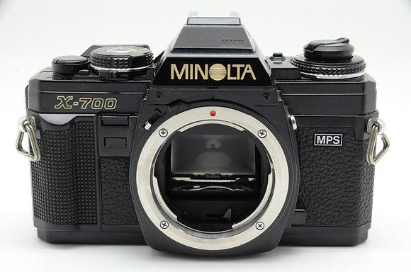 MINOLTA  NEW X-700 BODY ID 2b0743243