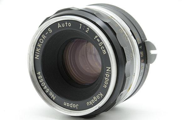 NIKON オートニッコール 50mm F2 ID 2b0740073