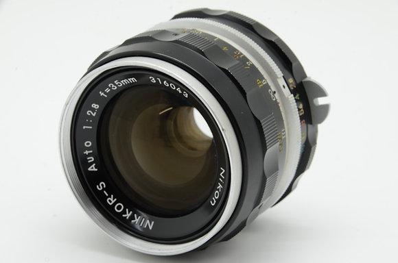 NIKON オートニッコール 35mm F2.8   ID 2b0736650