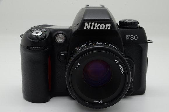 NIKON F80D AF50mm F1.8S set ID 2b0742378