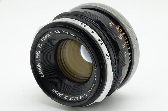 CANON FL 50mm F1.8   ID 2b0738093