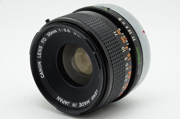CANON FD 35mm F3.5 S.C   ID 2b0737980