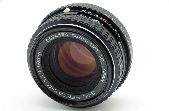 PENTAX SMCペンタM 50mm F1.7   ID 2b0736542