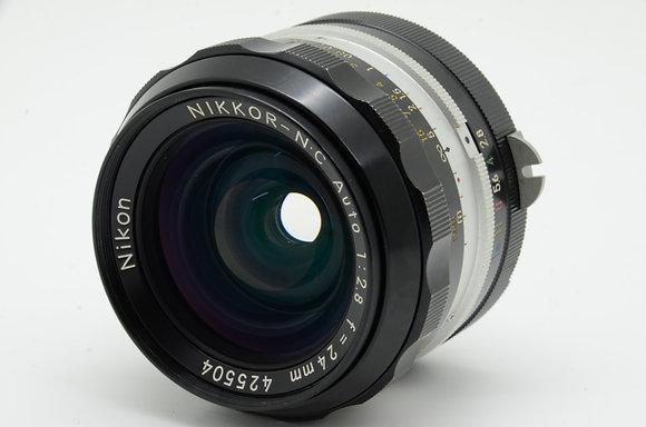NIKON オートニッコール 24mm F2.8   ID 2b0739330