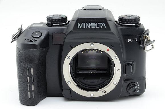 MINOLTA  α-7 ID 2b0741116
