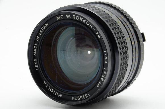MINOLTA  MCロッコール 28mm F3.5 ID 2b0740669