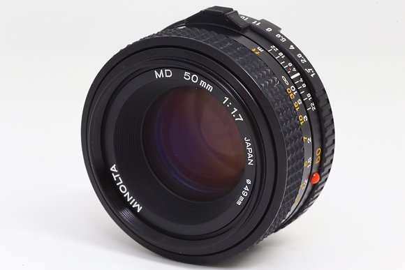 MINOLTA NMD 50mm F1.7   ID 2b0731133
