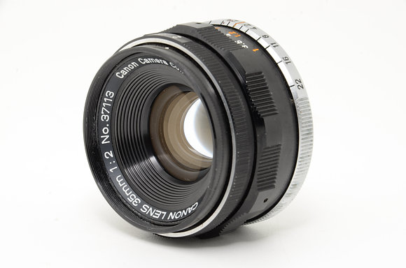 CANON 35mm F2   ID 2b0736914