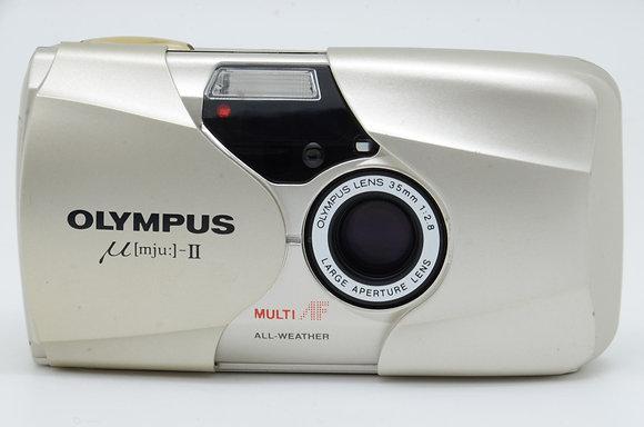 OLYMPUS μII シャンパンゴールド ID 2b0730007