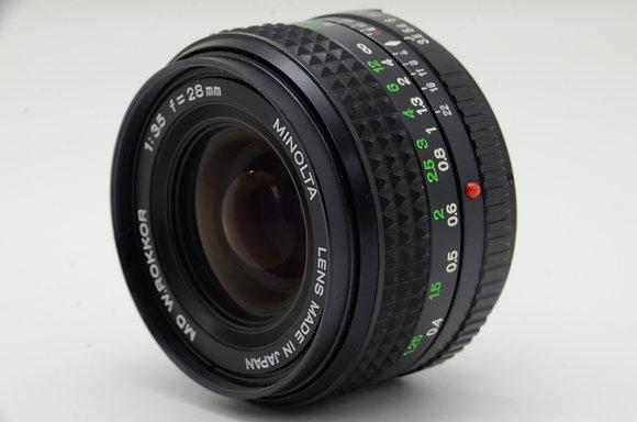 MINOLTA MDロッコール 28mm F3.5 ID 2b0737907