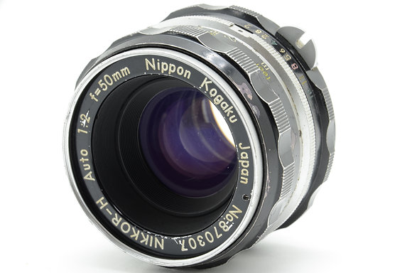 NIKON オートニッコール 50mm F2 ID 2b0740078