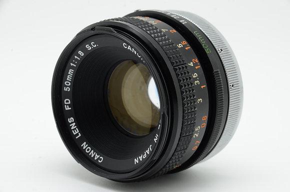 CANON  FD 50mm F1.8 ID 2b0740329
