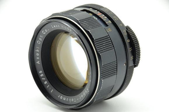 PENTAX  Sタクマー55mm F1.8 ID 2b0744029