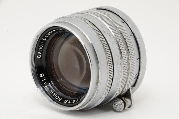 CANON 50mm F1.8   ID 2b0722556