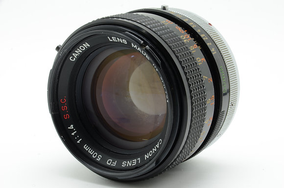 CANON FD 50mm F1.4 S.S.C ID 2b0740121