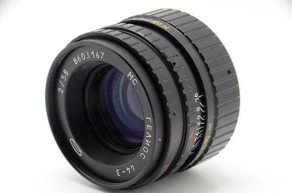 MMZ  HELIOS-44-3 58mm F2 ID 2b0743933