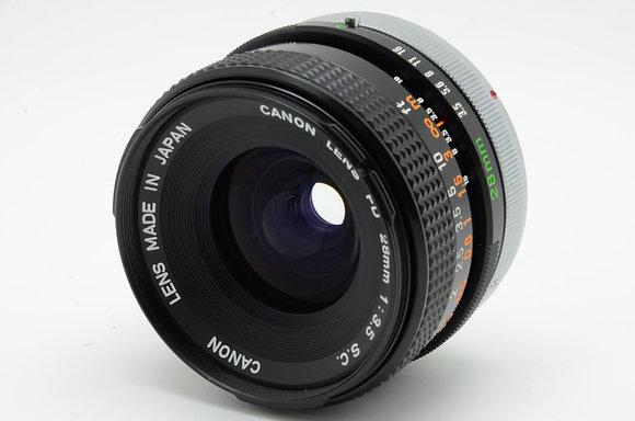 CANON FD 28mm F3.5 SC   ID 2b0718907