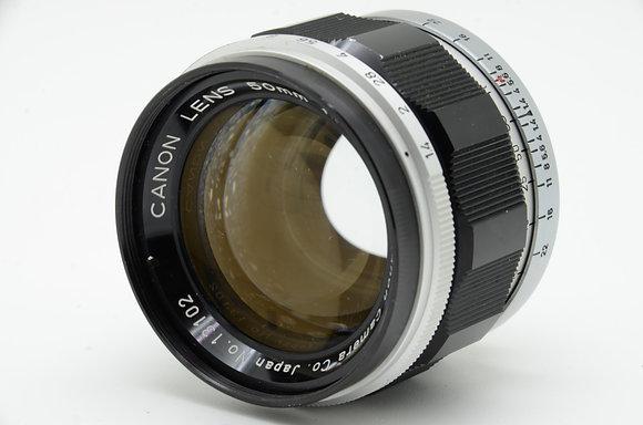 CANON  50mm F1.4 ID 2b0740430