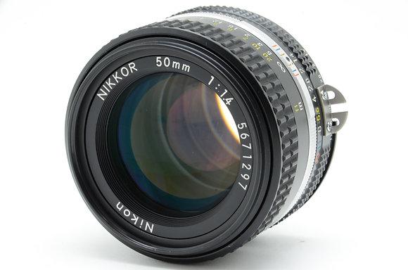 NIKON Ai 50mm F1.4S ID 2b0739697