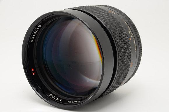 CONTAX プラナーT 85mm F1.4 AEG   ID 2b0725850
