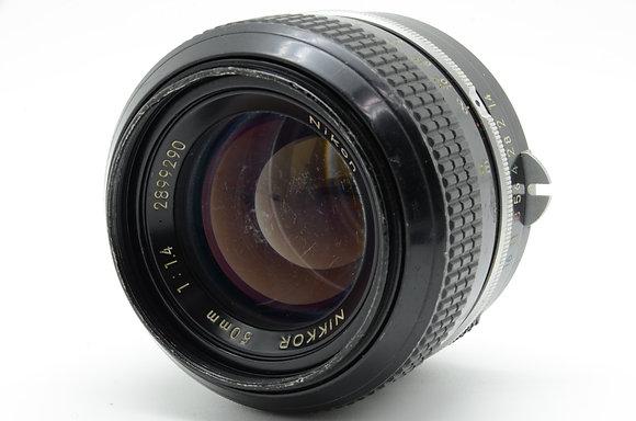NIKON NEWニッコール 50mm F1.4 ID 2b0740070