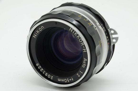 NIKON オートニッコール 50mm F2   ID 2b0739097