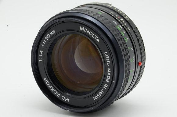 MINOLTA NMD 50mm F1.4   ID 2b0739092