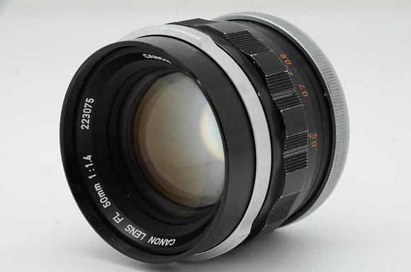 CANON FL50mm F1.4 初期型 ID 2b0741611