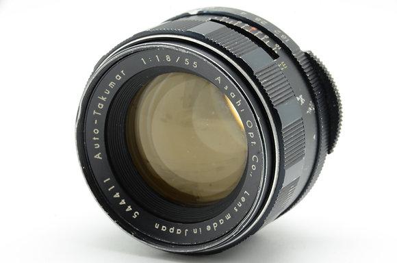 PENTAX オートタクマー 55mm F1.8 ID 2b0740126