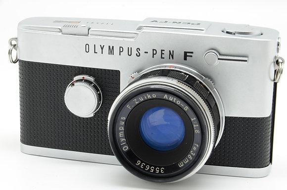 OLYMPUS PEN FV シルバー 38mm F1.8 ID 2b00738796