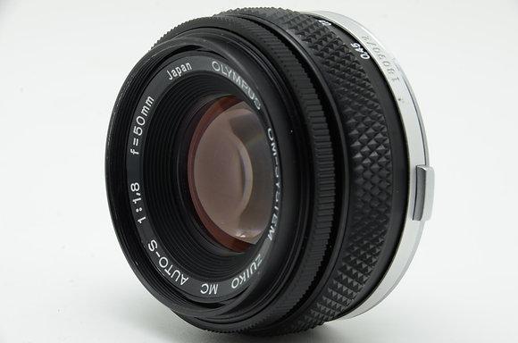OLYMPUS  ズイコー 50mm F1.8(旧) ID 2b0739613