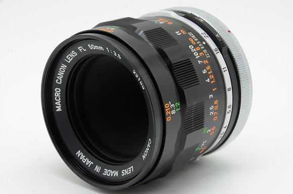 CANON FL 50mm F3.5 MACRO   ID 2b0738011