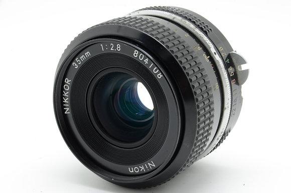 NIKON NEWニッコール 35mm F2.8 ID 2b0740080