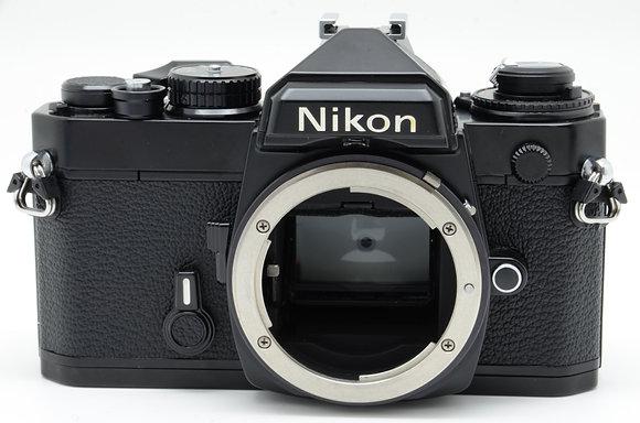 NIKON FE ブラック BODY ID 2b00739006