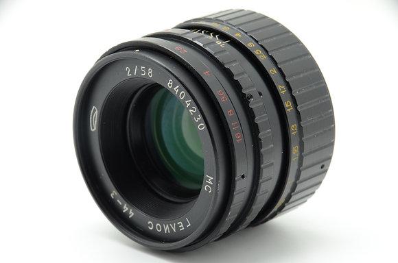 MMZ  HELIOS-44-3 58mm F2 ID 2b0743930