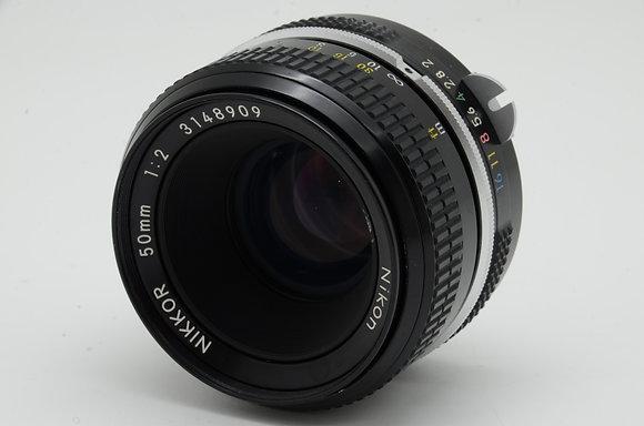 NIKON newnikkor 50mm F2   ID 2b0731089