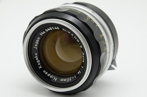 NIKON オートニッコール-S 50mm F1.4   ID 2b0731114