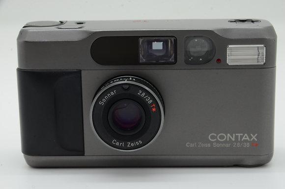 CONTAX T2 チタンブラック ID 2b0736150