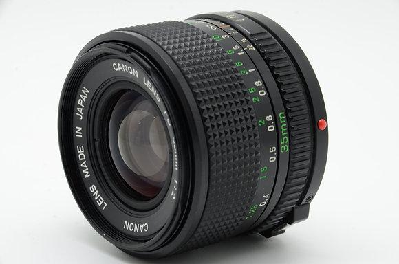 CANON  NFD 35mm F2 ID 2b0740299