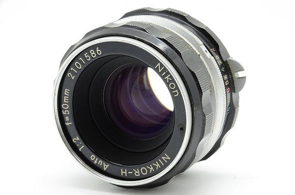 NIKON オートニッコール 50mm F2 ID 2b0740071