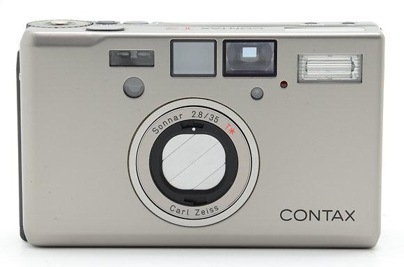 CONTAX  T3D シルバー ID 2b0740386