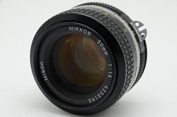 NIKON Ai 50mm F1.4   ID 2b0731393