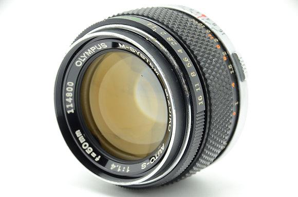OLYMPUS  ズイコー50mm F1.4 旧 ID 2b0744030