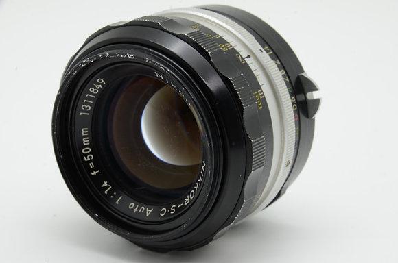 NIKON オートニッコール-SC 50mm F1.4   ID 2b0736652