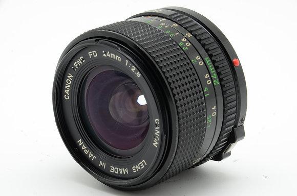 CANON  NFD 24mm F2.8 ID 2b0740879