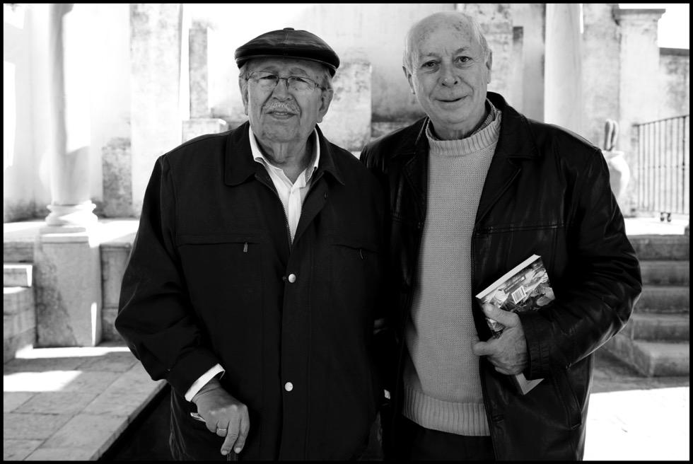 Rafael Guillén y Antonio Carvajal