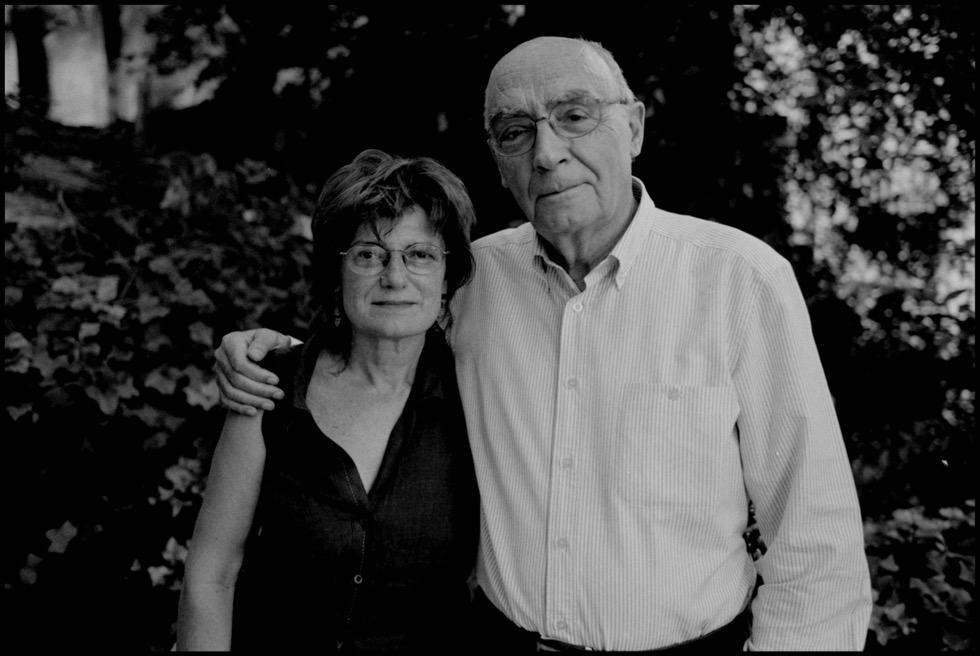 Ángela Olalla y José Saramago