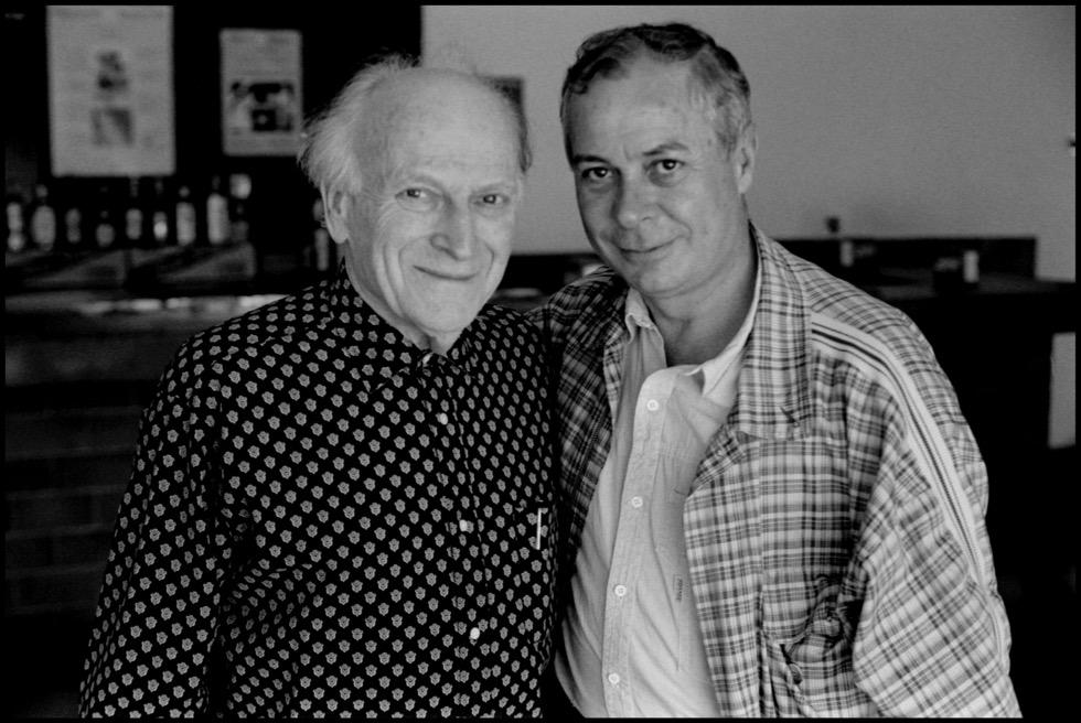 Jehudi Menuhin y Antonio Carvajal