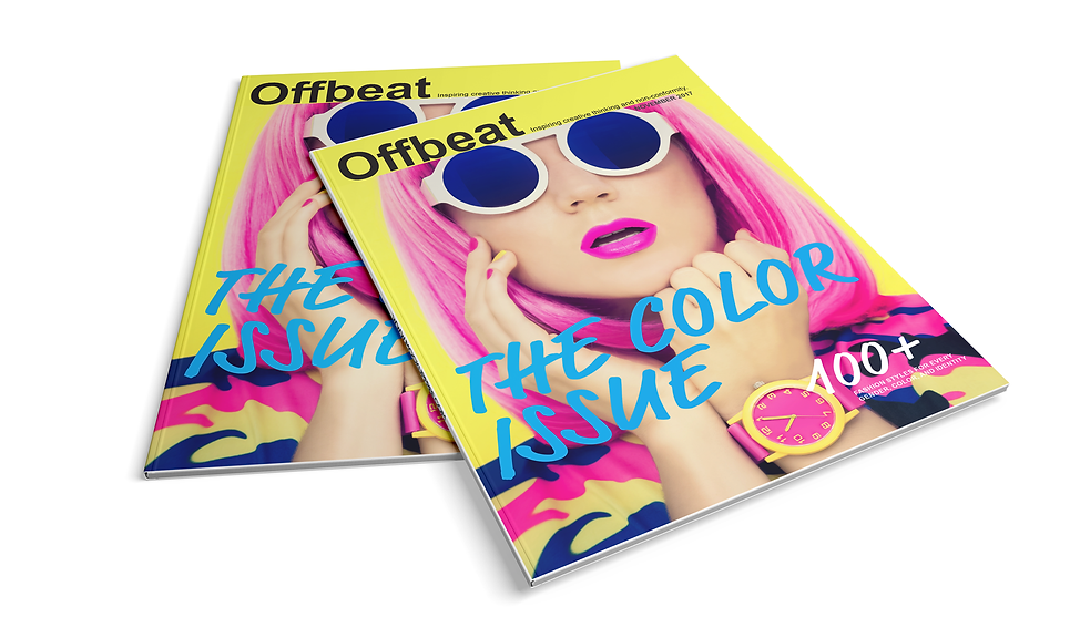 Offbeat Magazine Cover